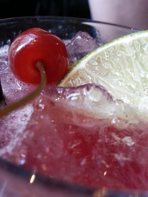 Le Fantome Bar Paris cherry on top