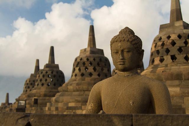 Sunrise Buddha, Borobudur