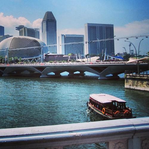 #singapore river view by @MySoDotCom