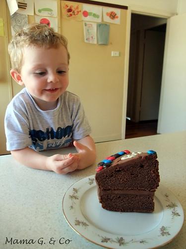 Chocolate Birthday Cake (2)