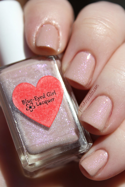Blue Eyed Girl Lacquer Flash Forward Fantasy