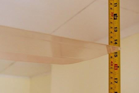 Adjust a ceiling fan