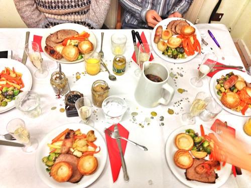 post-Christmas roast dinner