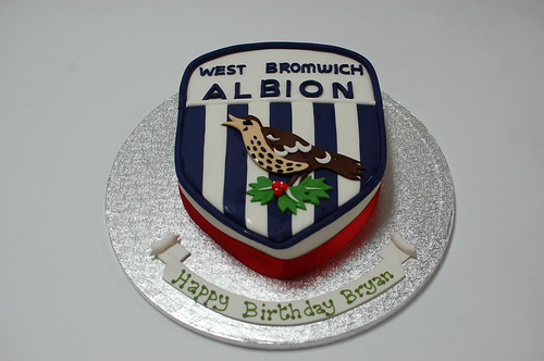 West Bromwich Albion Cake Beautiful Birthday Cakes
