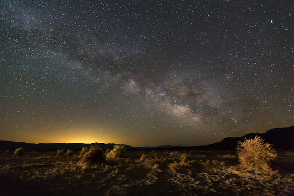 Milky Way over Devil's Cornfield