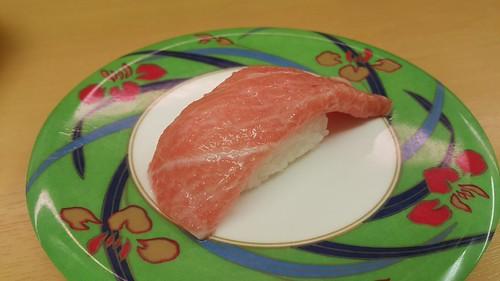 Fatty Tuna (เข้าใจว่าคือ ชูโทโร่) 490 เยน
