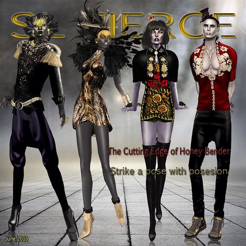 SL Fierce 4th issue by Bianca Adder