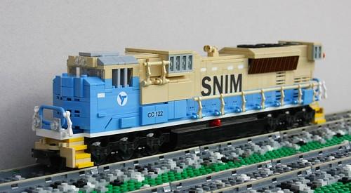 SNIM SD70ACS #CC 122