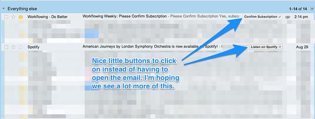 Cool Gmail Behavior