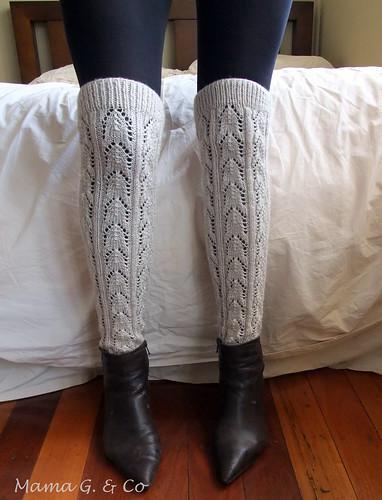 Lace legwarmers (3)