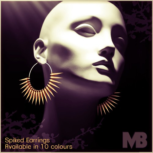 Spiked Earrings AD
