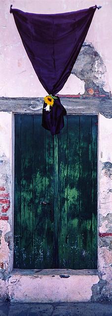 door in Antigua during Easter