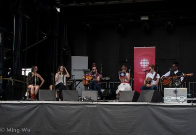 CBC Songwriter's Circle 2013 @ Major's Hill Park