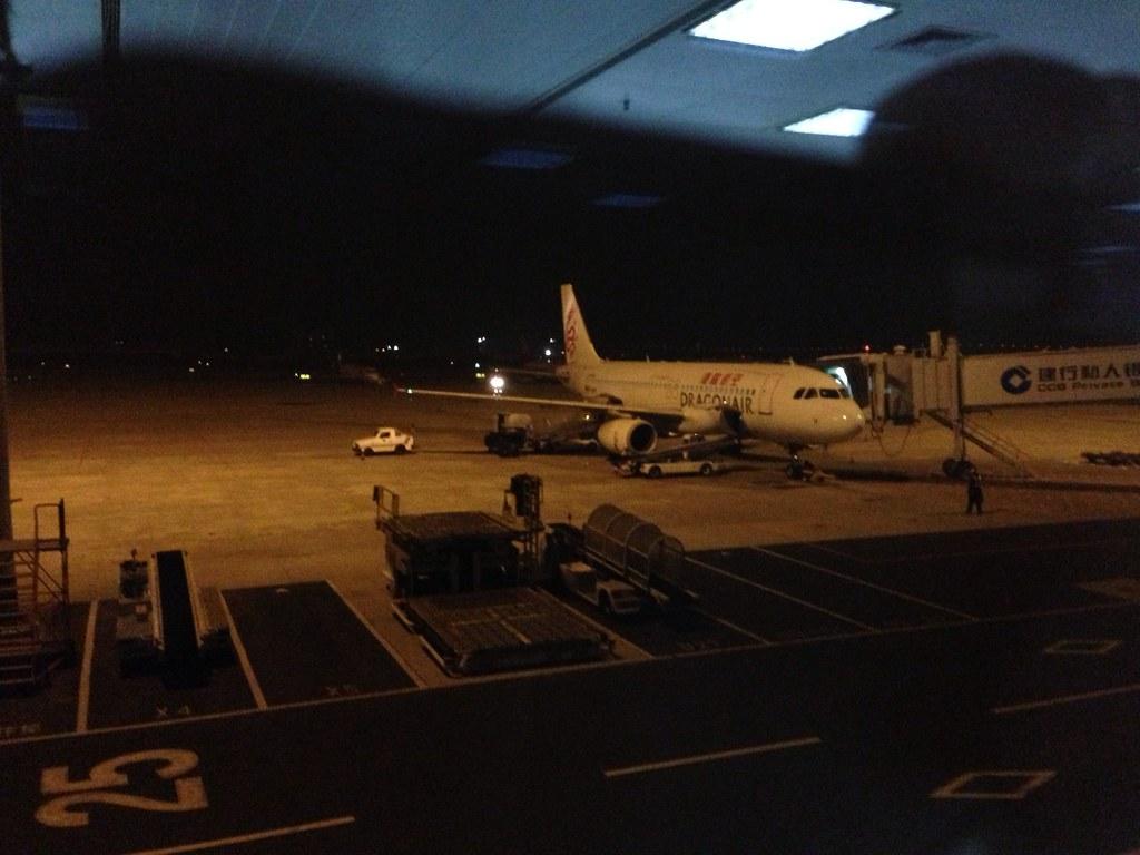 Dragonair Airbus A320 at Xiamen