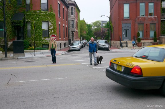 Measuring speeding on Clark Street
