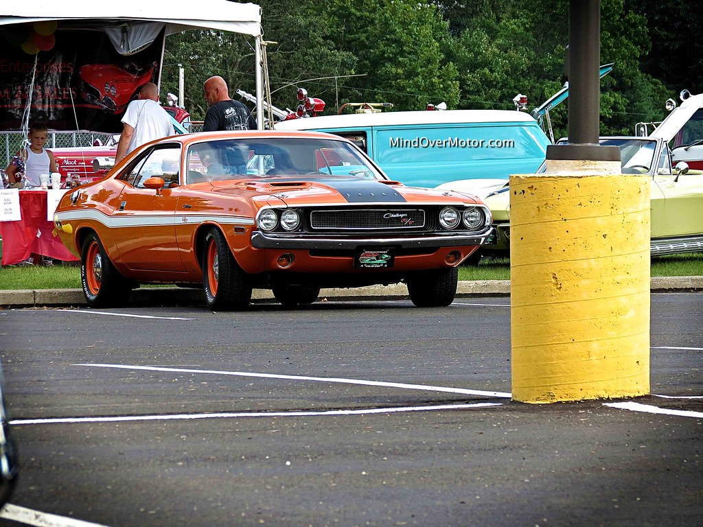 Dodge Challenger R/T at the New Hope Auto Show
