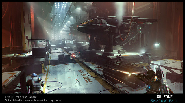 Killzone Shadow Fall DLC: Hangar