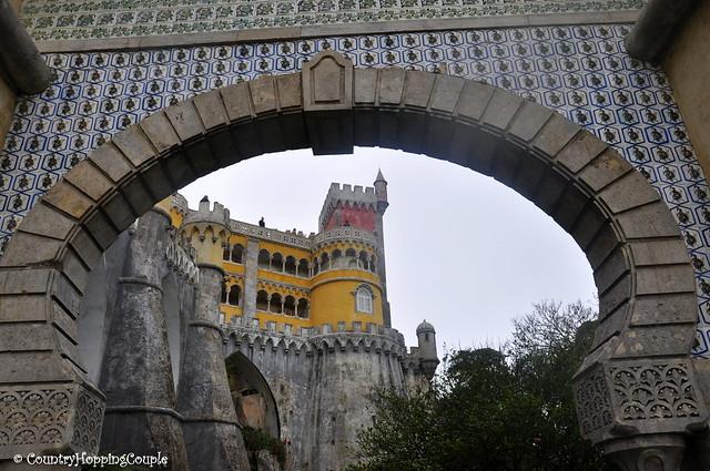 Entrance Pena Palace