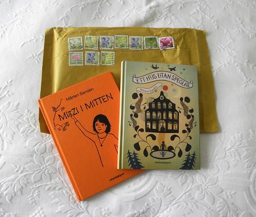 Mårten Sandén books in the post
