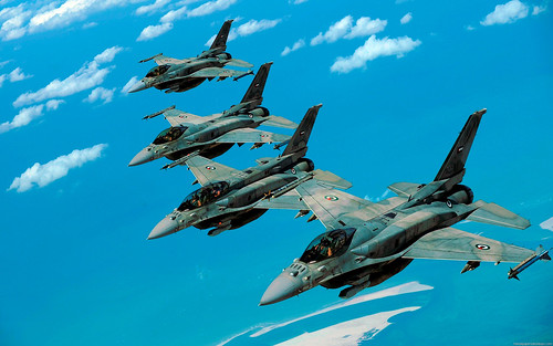 UAE F-16s by Uflinks