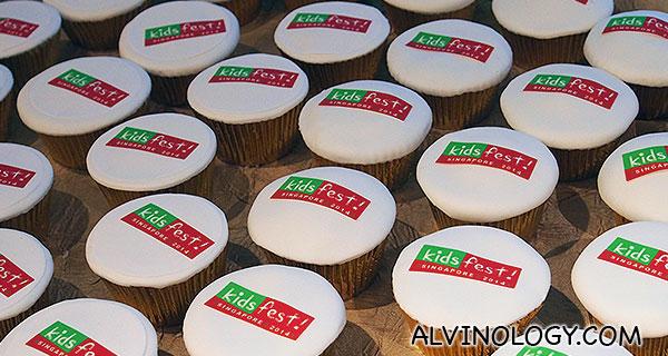 KidsFest 2014 muffins