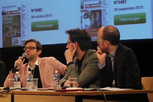 Cyril Petit, Yann Guegan, Alexandre Sirois - Quelle information pour les supports mobiles / Marion Mellinger