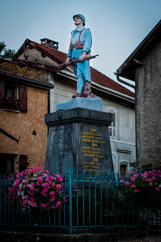 Mont-devant-Sassey, France.  World War I WWI Monument,