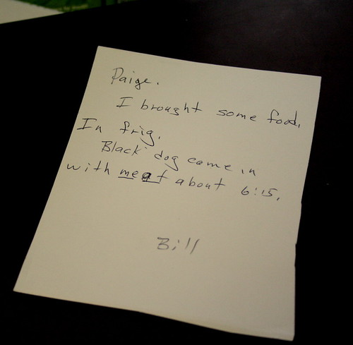 171/365 - Note from Dad