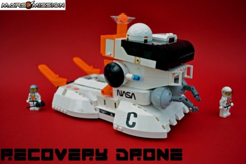 Mars Mission Recovery Drone