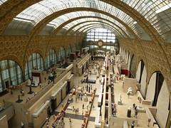 Musée d'Orsay Bird Eyes View