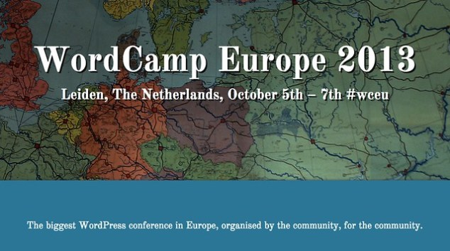WordCamp Europe 2013