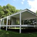 Farnsworth House Side Rear