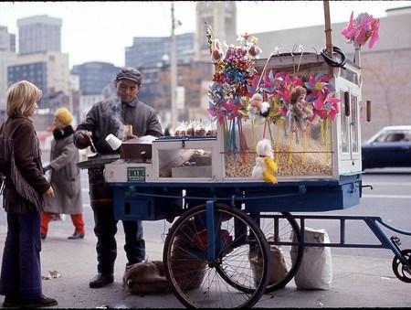 Chestnut Vendor - Toronto 1972