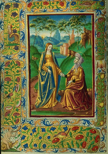 005-Fol. 40 v-W.420, Horas de Almugavar-1510-1520- The Digital Walters