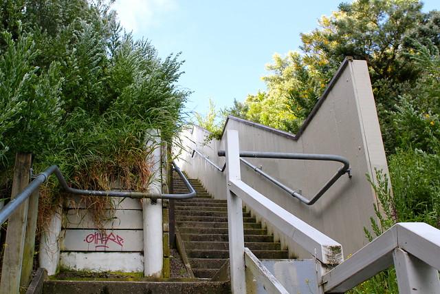 Friday: so many stairs