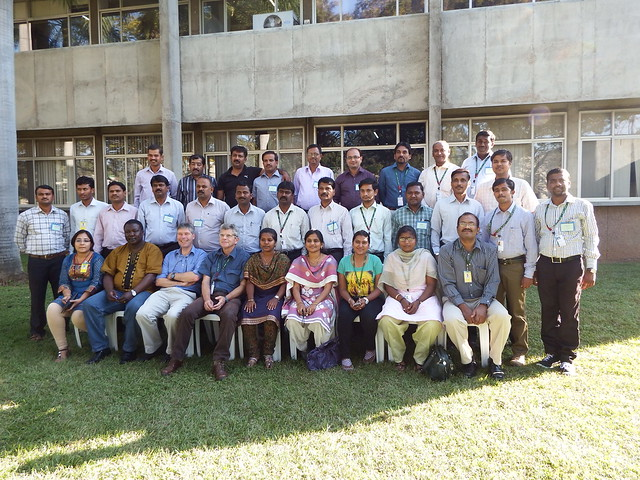 Participants in the ILRI-ICRISAT FEAST and Techfit training workshop