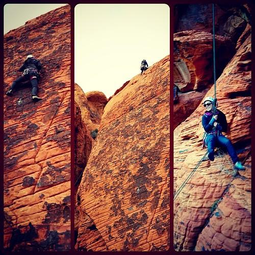 Cindy Chu, climbing