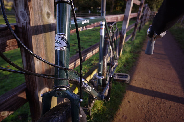 Surly Disc Trucker: Head Tube Detail