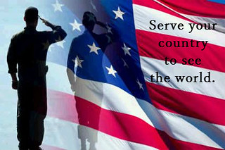 flag-salute-silhouette with caption