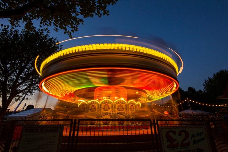 Spinning 'Round