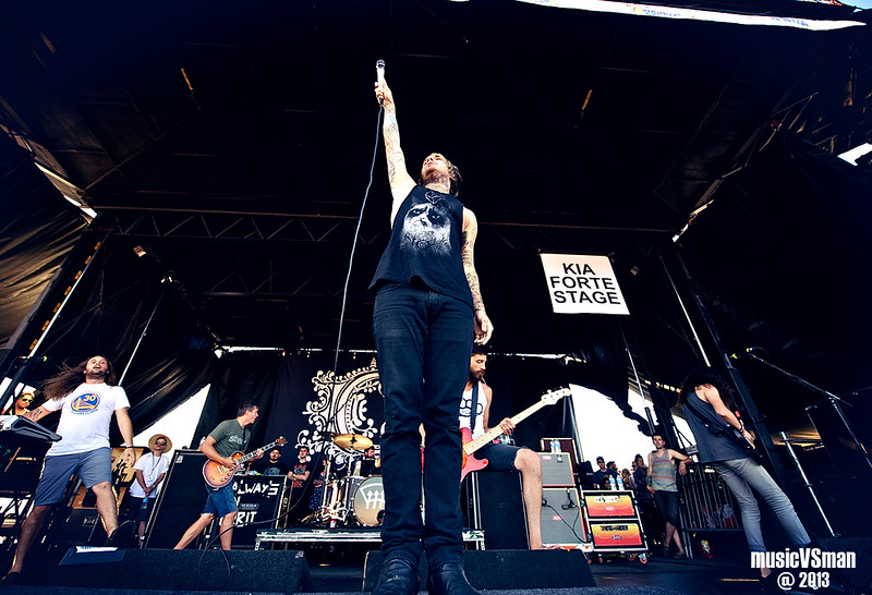 Chiodos @ Warped Tour 2013