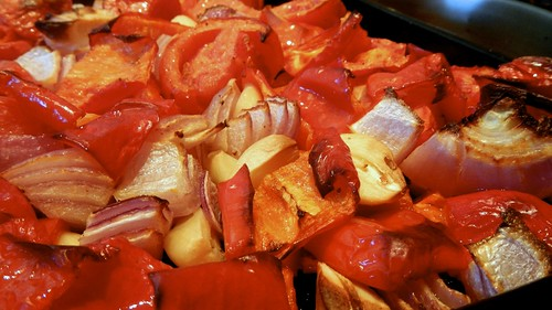 Roasted Tomato and Red Pepper Soup 12