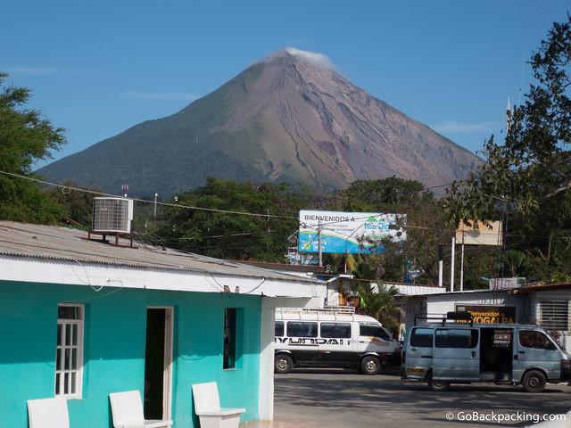 Volcan Concepcion (1,610m)