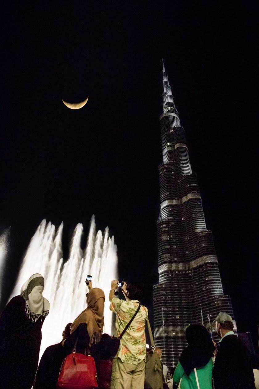 Dubai Fountains   Dubai, UAE