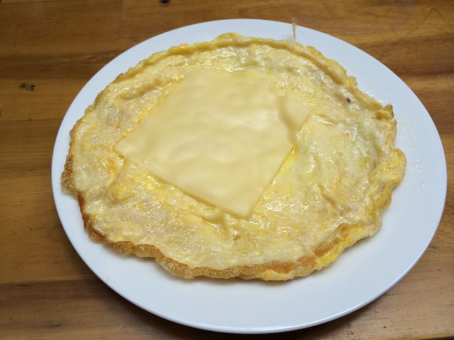 Omelet with cheese - Pink Tulip Hotel