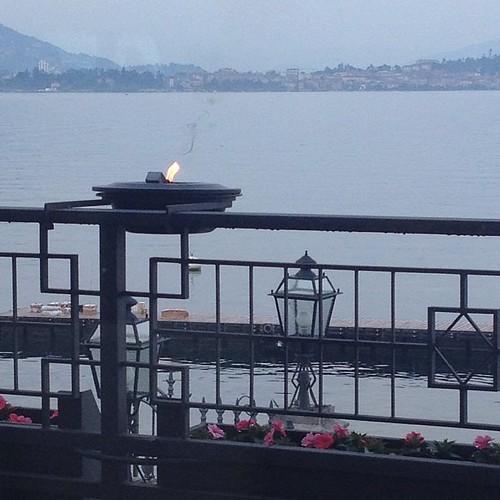 Vista lago #lagomaggiore #baveno #nofilter #giriingiro