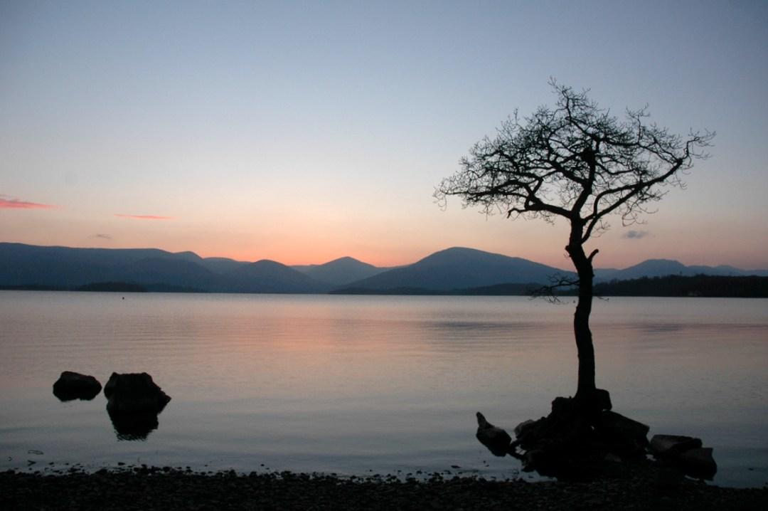 15. Anochecer en el Loch Lomond. Autor, Ben Matthews