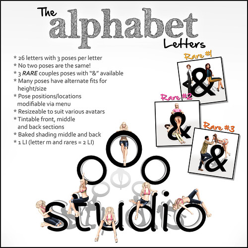 oOo Studio Alphabet Guide
