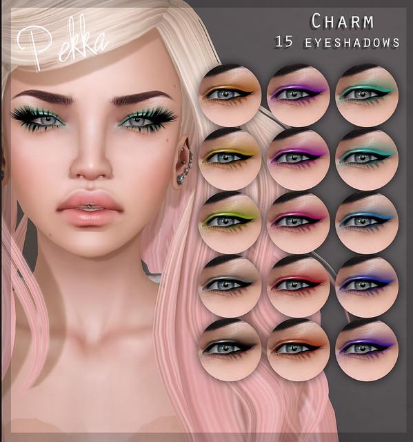 pekka charm eyeshadows