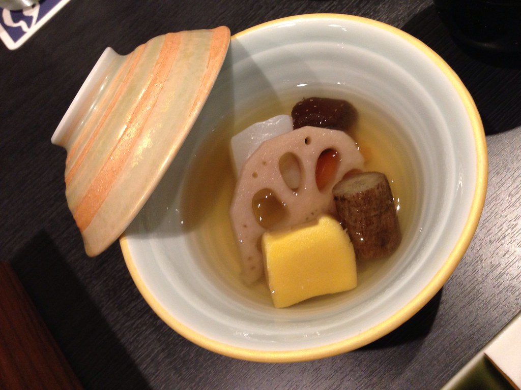 Clear Broth with Lotus Root